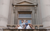 Identical degrees: Twin brothers graduate with architecture degrees, prepare for life apart after college