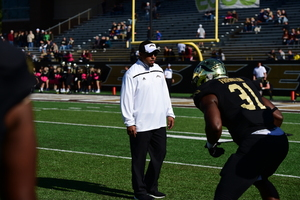 Mike Hart will be coaching running backs at his fourth different school next year.
