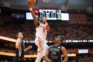 Andrew White's 40-point explosion earned him the ACC Player of the Week honors