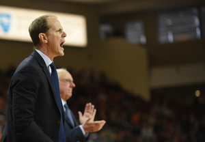 For years, the plan was for Mike Hopkins, left, to take over once Jim Boeheim retired after next season. Not anymore.