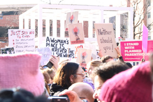 From hosting its own branch of the Women's March to hosting the vice president, Syracuse has felt a wave of feminism over the past four years.