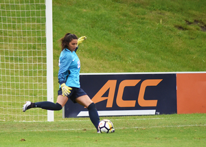Lysianne Proulx, a freshman, is competing to become Syracuse's starting goalkeeper, head coach Phil Wheddon said.
