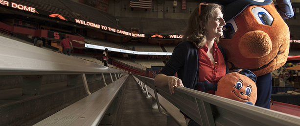 Julie Walas-Huynh: iSchool mentor marks decade of coaching Otto the Orange